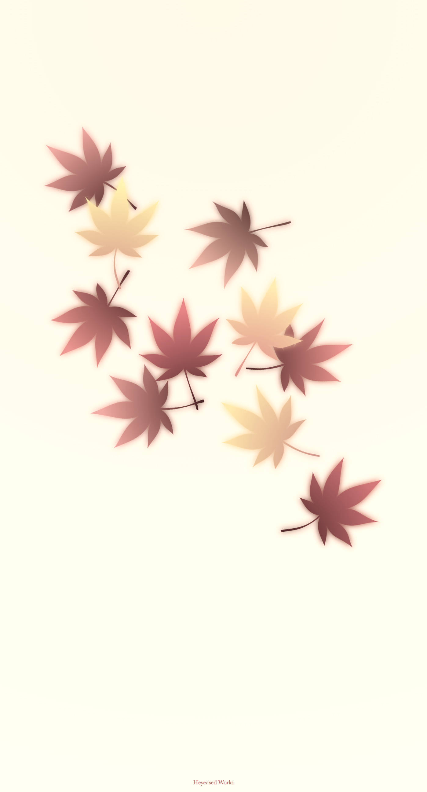 秋の壁紙 Autumn In Japan Mysterious Iphone Wallpaper
